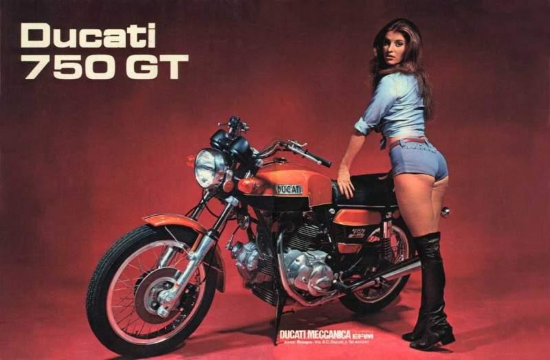 Ducati 750GT 71  4